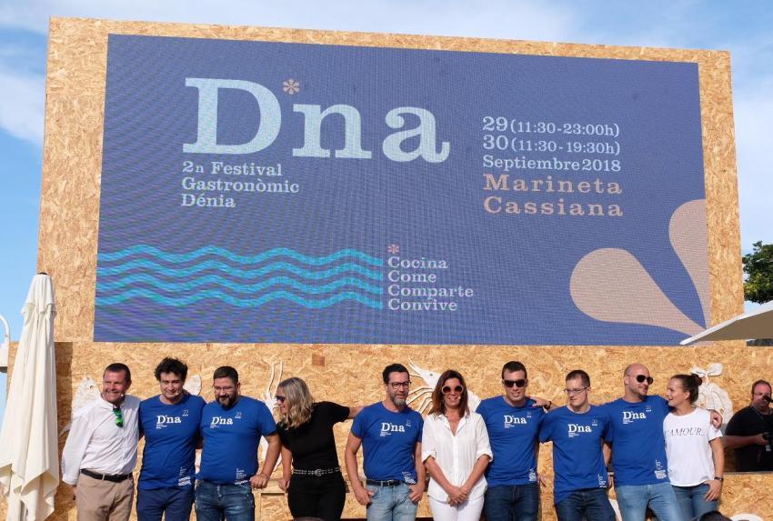 Il momento di chiusura della seconda edizione del D*na Festival Gastronómico di Dénia