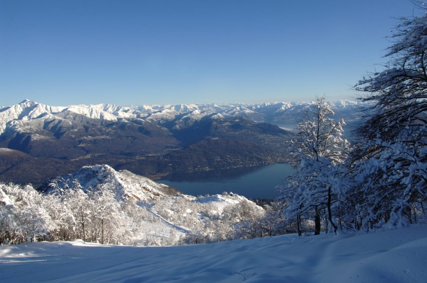 MOTTARONE_Lago Maggiore visto dall Alpe Corti