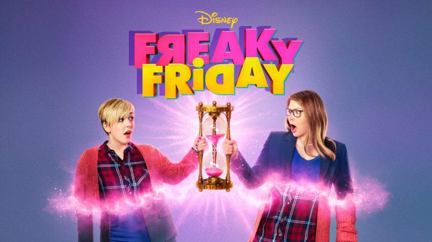 La locandina del film Freaky Friday della Disney