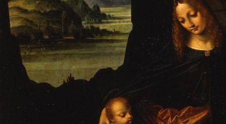 leonardo e la mostra Marco d'Oggiono, Vergine Rocce