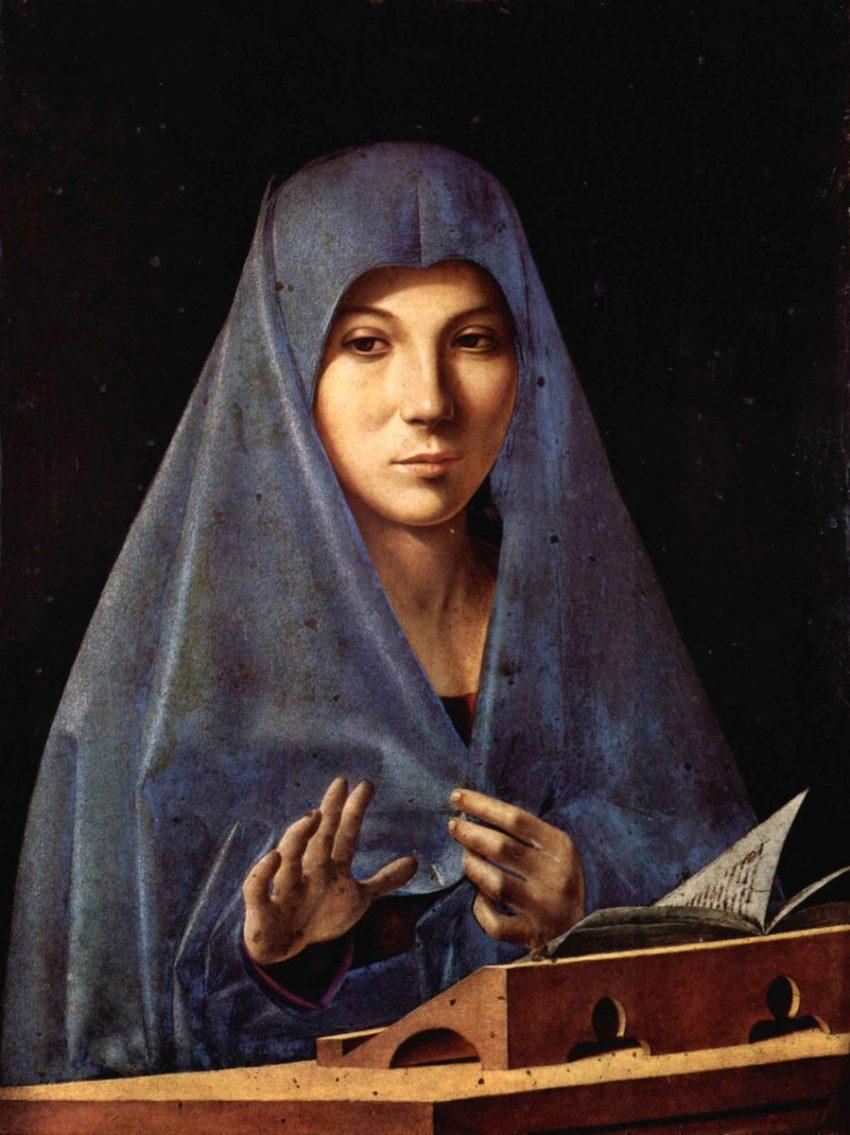 Antonello da Messina Annunciata Galleria Regionale Palazzo Abatellis Palermo