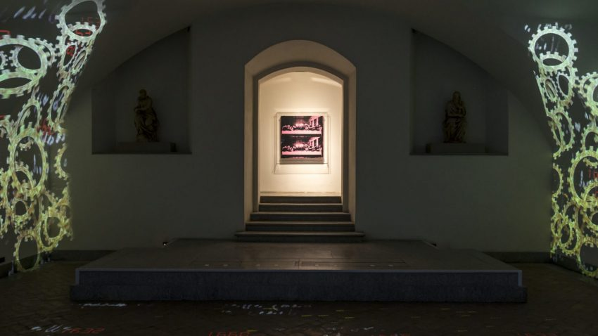 Leonardo e Warhol, la mostra immersiva nella Cripta di San Sepolcro, @Scalco