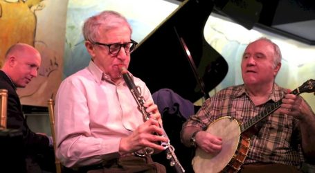 Woody Allen in concerto con la New Orleans Jazz Band