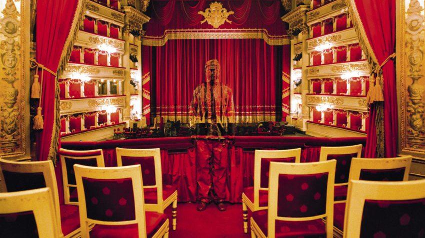 Liu Bolin, Teatro alla Scala, courtesy: Boxart, Verona