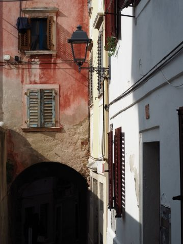 Vicoli stile veneziano in Slovenia