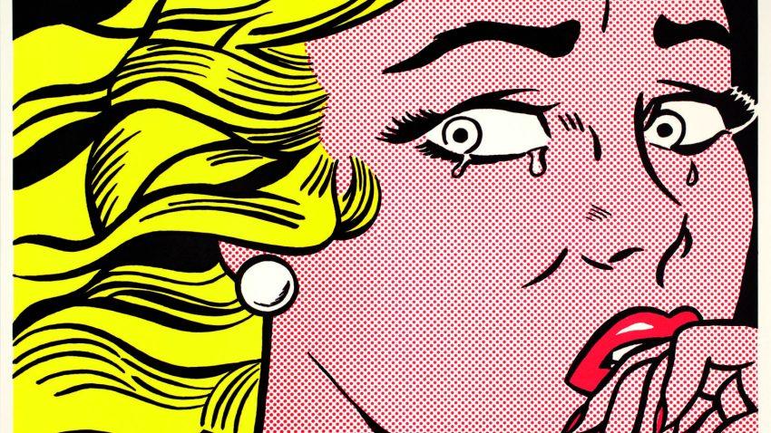 Roy Lichtenstein al MUDEC, Crying Girl, 1963