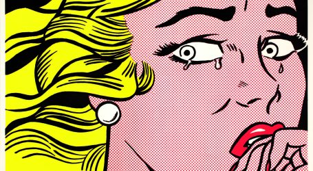 Roy Lichtenstein al MUDEC, Crying Girl, 1963