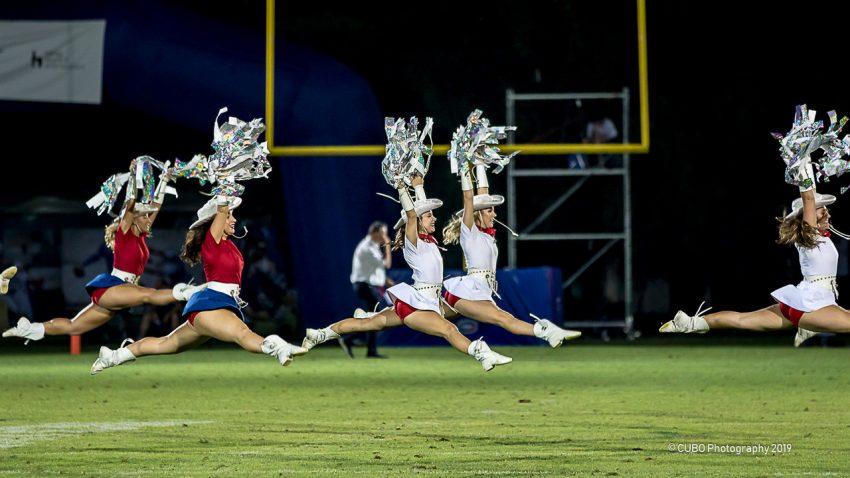 Le Rangerettes del Kilgore College in azione - foto di Cubo Photography