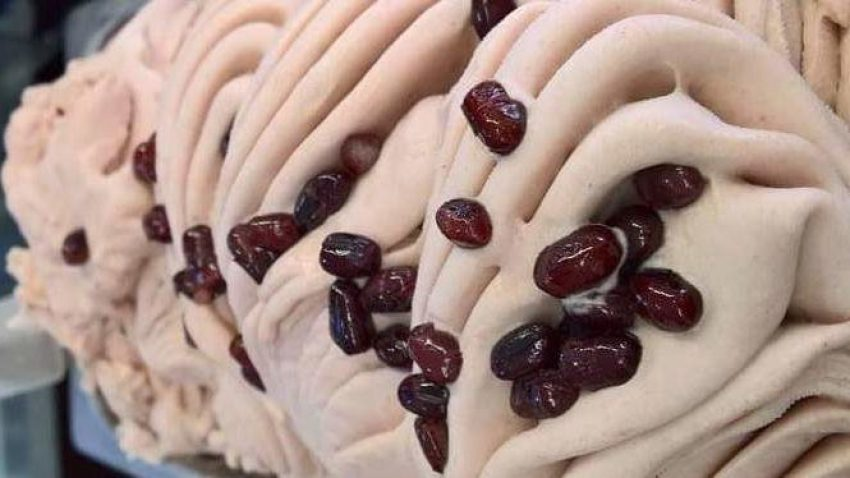 Il gelato ai fagioli rossi una delle chicche di Gelateria Etnica di Viale Monza