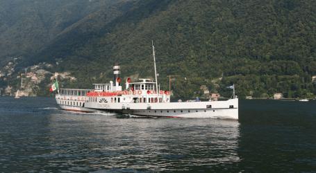 Alla scoperta del Lago a bordo del Piroscafo Concordia