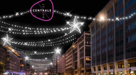 Luminarie di Natale: Centrale district torna a splendere