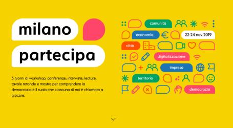 Milano Partecipa, dedicato all'attivismo civico nell'era digitale