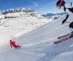 """Lo """"sci assoluto"""" nell'inverno di Arabba"""