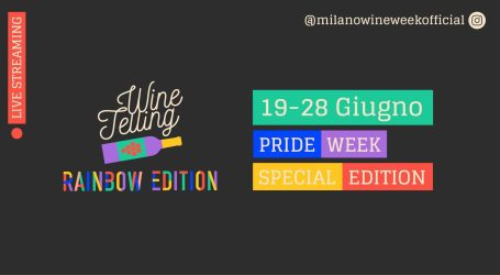 Milano Pride con Winetelling Rainbow Edition