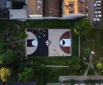 La nuova piazza Tirana attraverso opere di street art