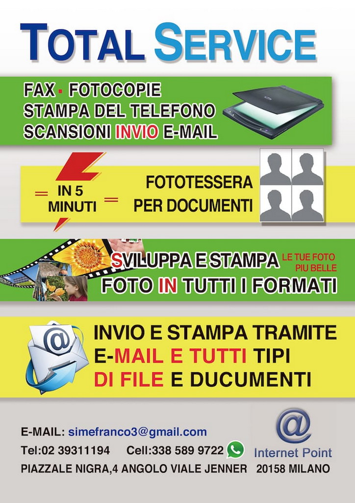 Total Service Milano phone center telefonia servizi foto