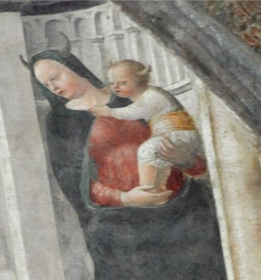 Risultati immagini per la madonna con le corna a milano