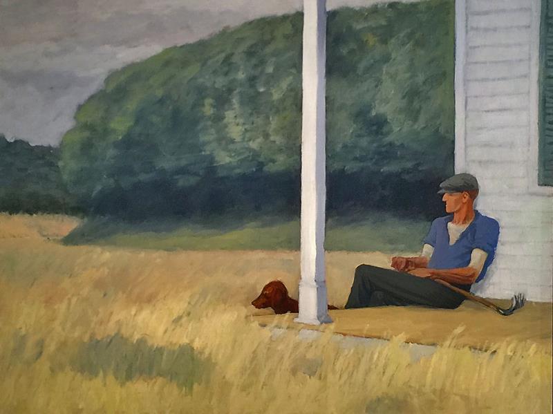 Risultati immagini per quadri in cui sono raffigurati uomo e cane