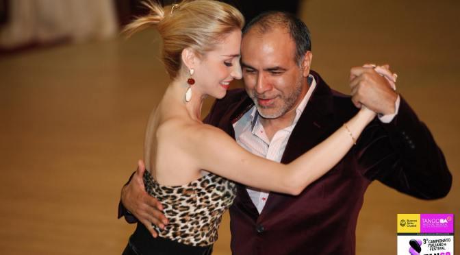 Claudio Villagra e Helena Fernandez – Milonga . Domenica 1 giugno a Le Banque