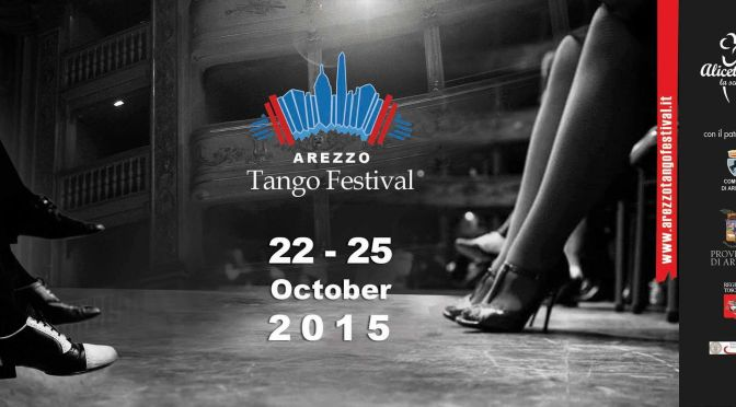 Andrea Bassi e Alice Gaini all'Arezzo tango festival 22/25 ottobre