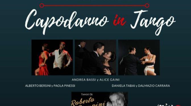 Capodanno 2018 di tango a Bergamo. Cenone, milonga e per chi vuole, notte in albergo.
