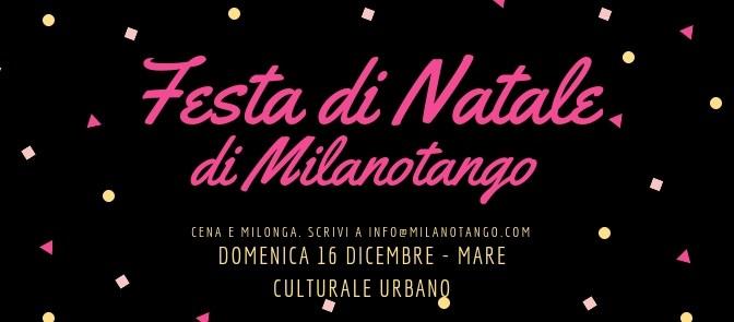 Cena di Natale e Milonga in Cascina a San Siro. Per gli amici di Milano tango.
