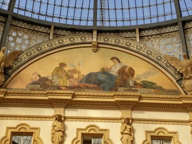 Милан, октагон