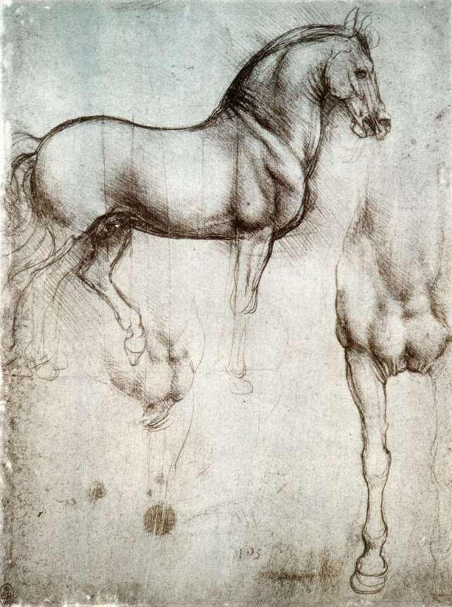конь Леонардо да Винчи