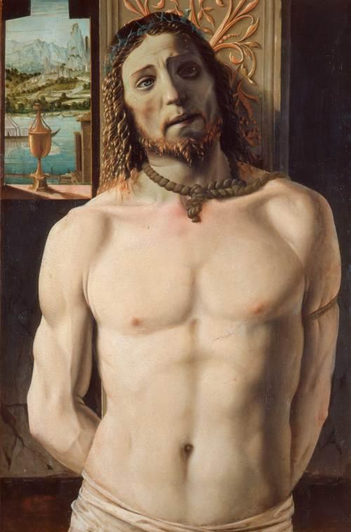 """Браманте """"Христос у столба"""""""