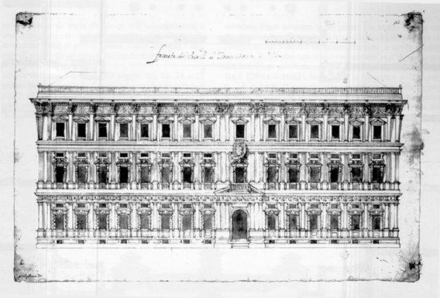 Миланская мэрия - Палаццо Марино - проект Алесси