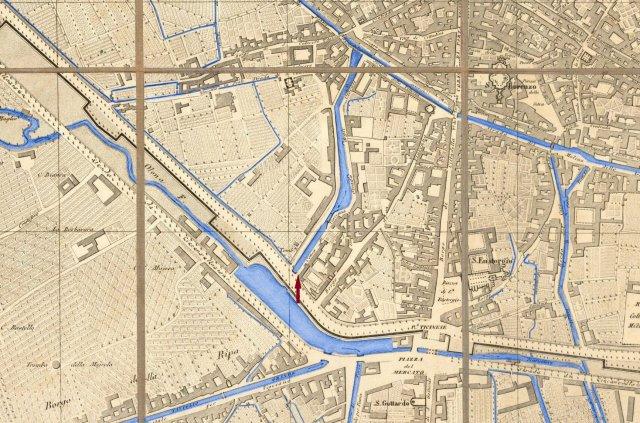 карта города с указанием шлюза
