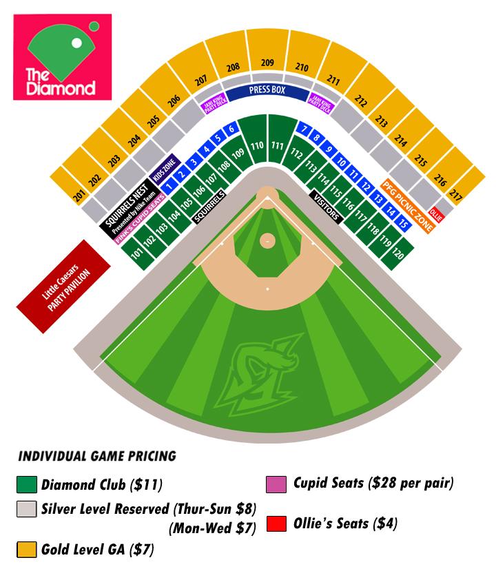 Minor League Baseball Teams Map