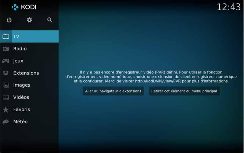 configurer PVR IPTV