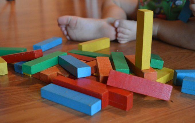 Mein Kind hat Soor - Spielzeug Bausteine