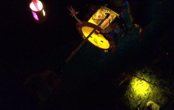 Laternenumzug mit der Kita - unsere Laternen