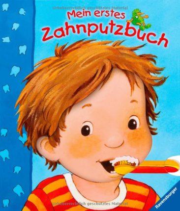 Mein erstes Zahnputzbuch - Junge putzt seine Zähne