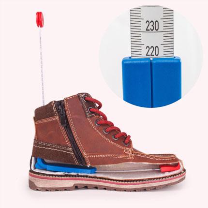 Schuhinnenlänge mit plus12 messen