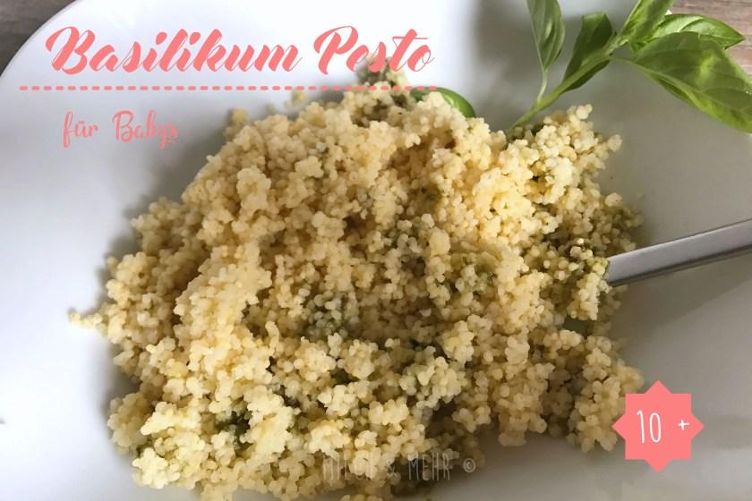 Pesto Rezept Babys Kleinkinder Baby Led Weaning
