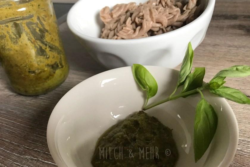Pesto Nudeln Baby Led Weaning