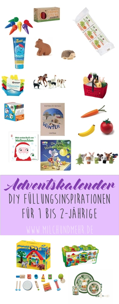 Adventskalender Kleinkind Inspirationen DIY