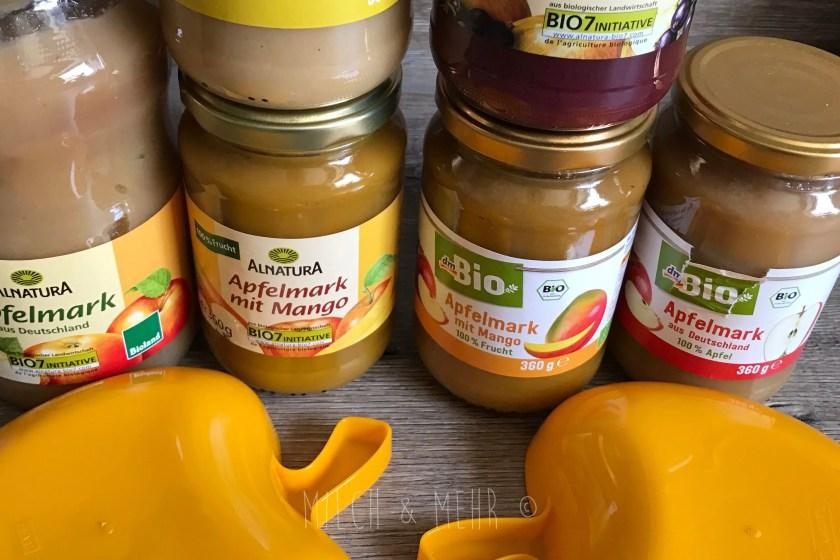 Babybrei selbst kochen Spartipp Obst im Glas
