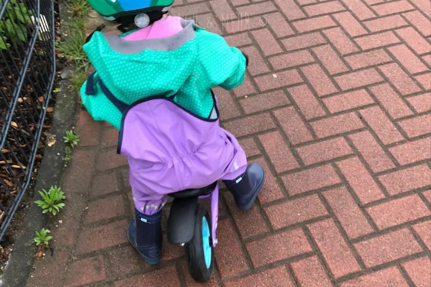 WIB #kw19 Laufrad Fahren im Regen