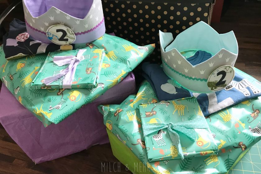 kreative Geschenke zum zweiten Geburtstag