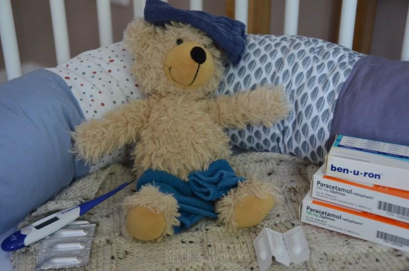 Schmerzen und Fieber bei Babys und Kleinkindern behandeln
