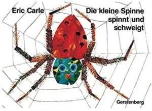 Buchtipp die kleine Spinne spinnt und schweigt