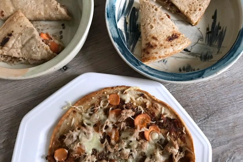 mildes veganes Pesto als Brotaufstrich
