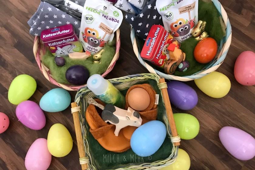 WIB #kw16 Ostergeschenke Eiersuche Osternest