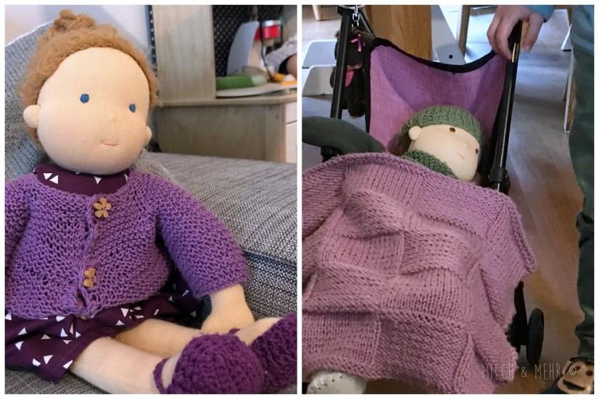 Waldorf Puppe zum dritten Geburtstag