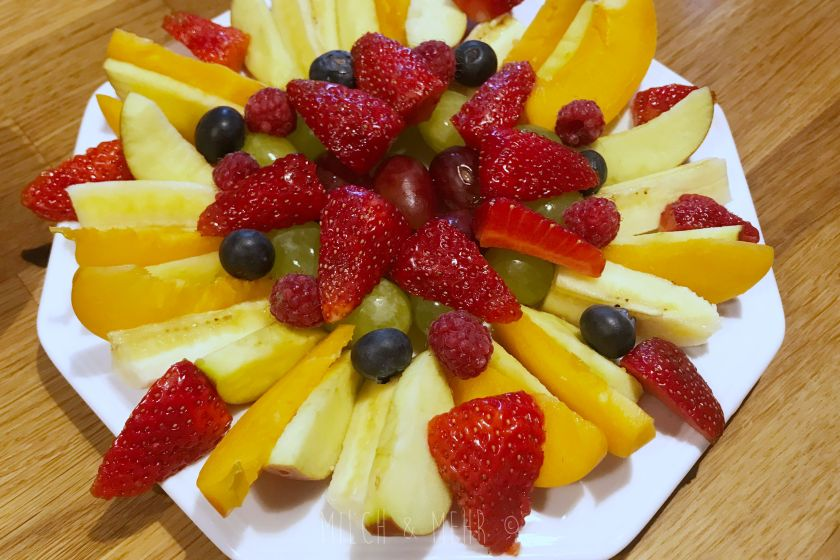 WIB #kw24 Obstteller im Sommer