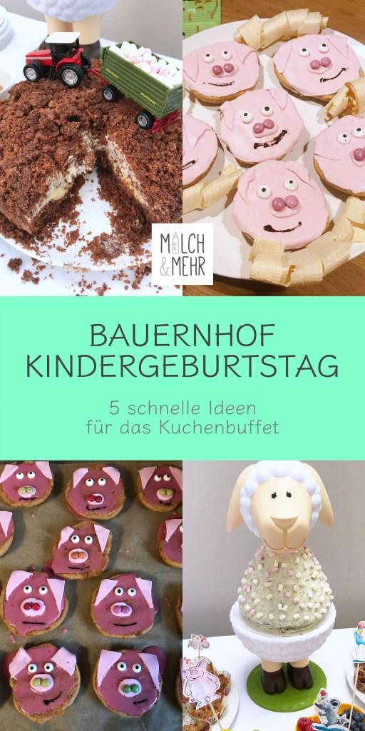 Kindergeburtstag Bauernhof Motto Kuchen Inspirationen